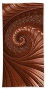 Chocolate  Beach Towel