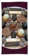 Chocolate Mandala Beach Sheet