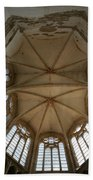 Choir Vault St Thibault Beach Towel