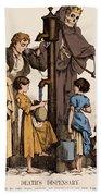 Cholera-infected Pump, 1854 Beach Towel