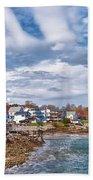 Chowdah House 0225h Beach Towel