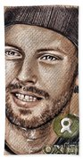Chris Martin Beach Towel