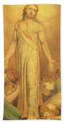 Christ Appearing To The Apostles After The Resurrection Beach Towel