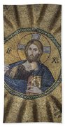 Christ Pantocrator Surrounded By The Prophets Of The Old Testament 1 Beach Sheet