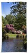 Christchurch Botanic Gardens New Zealand Beach Towel
