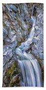 Christine Falls In Mount Rainier National Park Beach Towel