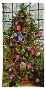 Christmas - An American Christmas Beach Towel