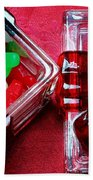 Christmas Candy - Candy Dish - Sweets - Treats Beach Towel