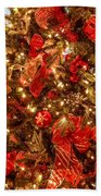 Christmas Dazzle Beach Towel