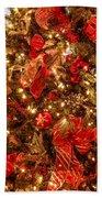 Christmas Dazzle Beach Towel
