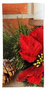 Christmas Decor Close Beach Towel by Kenneth Sponsler