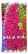 Christmas In Dixie Beach Towel