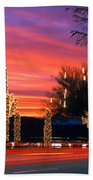 Christmas, Phoenix, Arizona, Usa Beach Towel