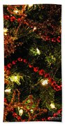 Christmas Reflections Beach Towel