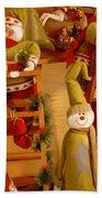 Christmas Toys Beach Towel