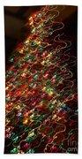 Christmas Tree 2014 Beach Towel