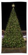Christmas Tree Hampton City Center  Beach Towel