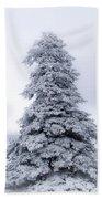Christmas Tree Beach Towel
