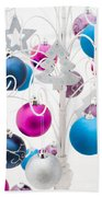 Christmas Tree Tree Beach Towel by Anne Gilbert