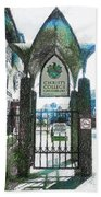 Christ's College Canterbury Beach Towel