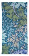 Chrysanthemums In Blue Beach Towel