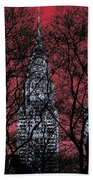 Chrysler Building 8 Beach Towel