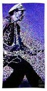 Chuck Berry Rocks Abstract Beach Towel