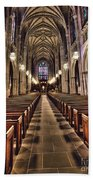 Church Aisle Beach Towel