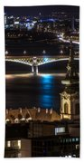 Church And Bridge Beach Towel