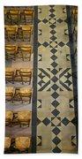 Church Chairs Beach Towel