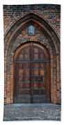 Church Door Beach Towel