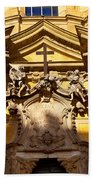 Church Facade Beach Towel