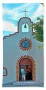 Church In San Carlos-sonora Beach Towel