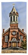 Church In Sprague Washington 2 Beach Towel