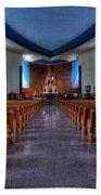 Church Of Saint Columba Beach Sheet