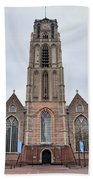 Church Of St Lawrence In Rotterdam Beach Towel