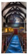 Church Of St Mary Beach Towel by Adrian Evans