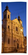 Church Of The Holy Spirit In Warsaw Beach Towel