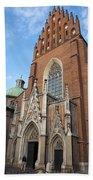 Church Of The Holy Trinity In Krakow Beach Towel