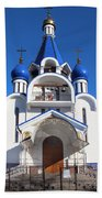 Church Of The Nativity Of The Blessed Virgin Beach Towel