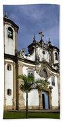 Church Ouro Preto Brazil 5 Beach Towel