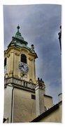 Church Steeple - Bratislava Slovakia Beach Towel