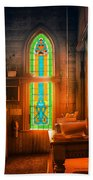 Church Vestibule Beach Towel
