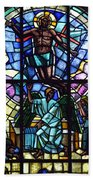 Church Window Beach Towel by Tommytechno Sweden
