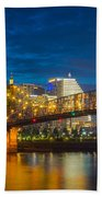 Cincinnati Downtown Beach Towel