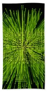 Circuit Zoom Beach Towel by Jerry McElroy