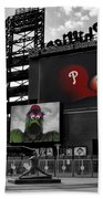 Citizens Bank Park Philadelphia Beach Towel by Bill Cannon