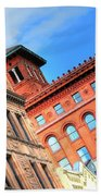 City Architecture Kcmo Beach Towel