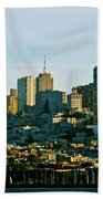 City By The Bay Beach Towel