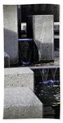 City Fountain Beach Towel